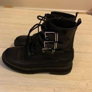 Zara kids buckle boots.